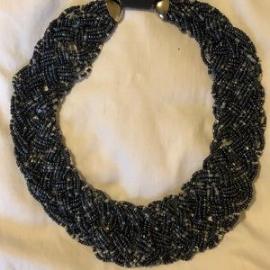 T & J Designs Braided Bead Necklace